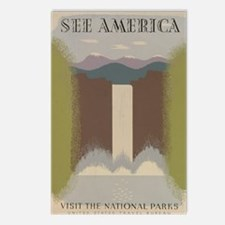 see_america Postcards (Package of 8)