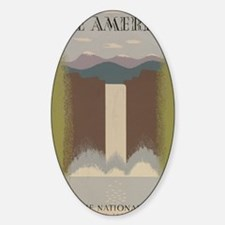 see_america Sticker (Oval)