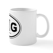 DG Oval Mug
