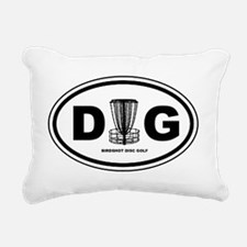 DG Oval Rectangular Canvas Pillow