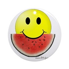 smileywatermelon811friendly big.gif Round Ornament