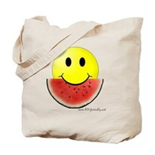 smileywatermelon811friendly big.gif Tote Bag