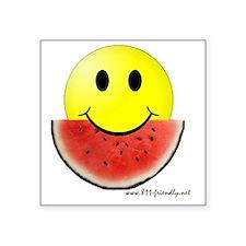 """smileywatermelon811friendly Square Sticker 3"""" x 3"""""""