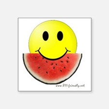 "smileywatermelon811friendly Square Sticker 3"" x 3"""
