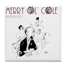 Cole Porter CD Cover Hirschfeld FINAL Tile Coaster