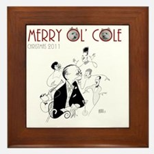 Cole Porter CD Cover Hirschfeld FINAL Framed Tile
