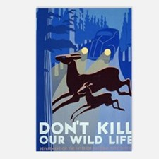 dont_kill_our_wildlife Postcards (Package of 8)