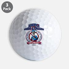 AnthonyWeinerT Golf Ball