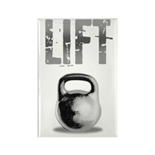 Kettlebell_Routine_dark Rectangle Magnet