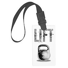 Kettlebell_Routine_dark Luggage Tag