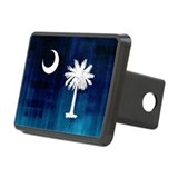 South carolina flag Hitch Covers