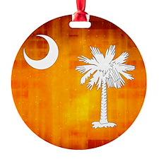 South Carolina Palmetto State Flag Ornament