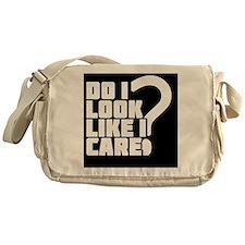 care_black Messenger Bag