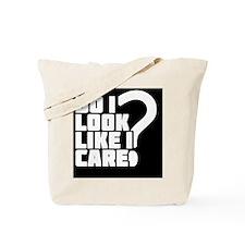 care_black Tote Bag