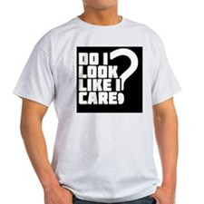 care_black T-Shirt