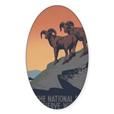 national_parks_preserve_wildlife Decal
