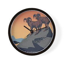national_parks_preserve_wildlife Wall Clock