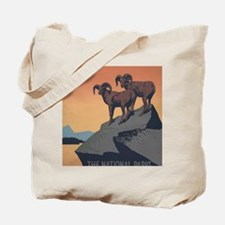 national_parks_preserve_wildlife Tote Bag