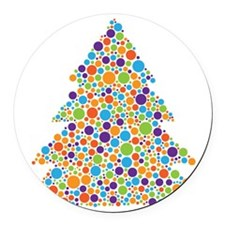 treeofdots Round Car Magnet