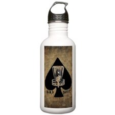 Burning Ace - Disc Gol Sports Water Bottle