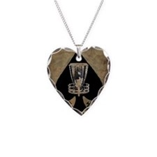 Burning Ace - Disc Golf Necklace