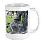 Prescott Cowboy Statue detail--Large Mug