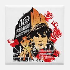 10 Storey Love Song Tile Coaster