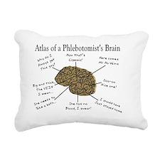 atlas of a Phlebotomists Rectangular Canvas Pillow