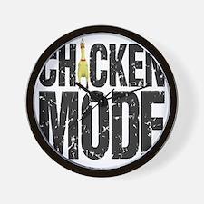 Chicken Mode Wall Clock