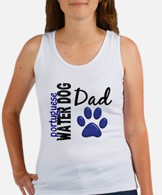 D Portuguese Water Dog Dad 2 Women's Tank Top