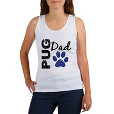 D Pug Dad 2 Women's Tank Top
