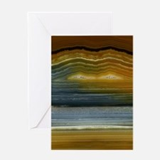Agate-Mineral-iPad 2 Greeting Card