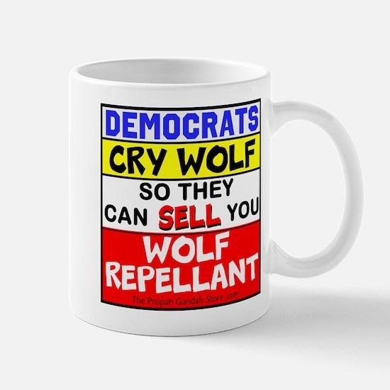 Democrats Cry Wolf Mugs