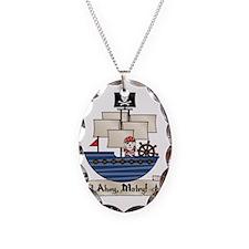 AhoyMateyPirateShip Necklace