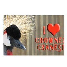 CrownedCrane Coin Postcards (Package of 8)