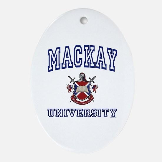 MACKAY University Oval Ornament