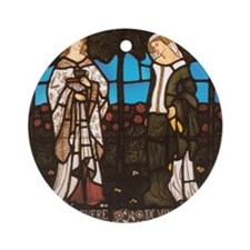 William_Morris_Queen_Guenevere_and_ Round Ornament