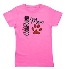 D Redbone Coonhound Mom 2 Girl's Tee