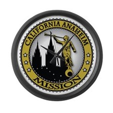 California Anaheim LDS Mission An Large Wall Clock
