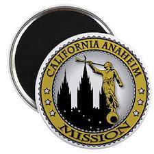 California Anaheim LDS Mission Angel Moroni Magnet