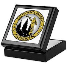 California Fresno LDS Mission Angel M Keepsake Box