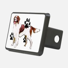 red and white setter Hitch Cover