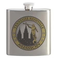 Tennessee Nashville LDS Mission Angel Moroni Flask