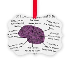 Atlas of a Hygienists Brain Ornament