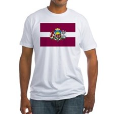Latvia w/coat of arms Shirt