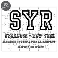 AIRPORT CODES - SYR - SYRACUSE, NEW YORK Puzzle