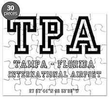 AIRPORT CODES - TPA - TAMPA, FLORIDA Puzzle
