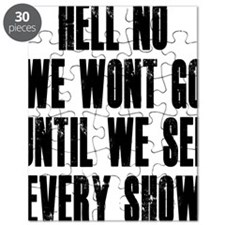 Hell-No-We-Wont-Go Puzzle