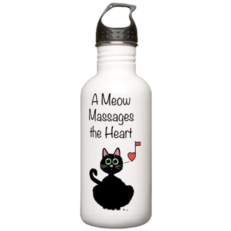 Meow_massages Stainless Water Bottle 1.0L