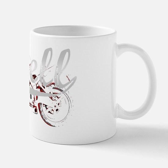 Buell_Script_dark Mug